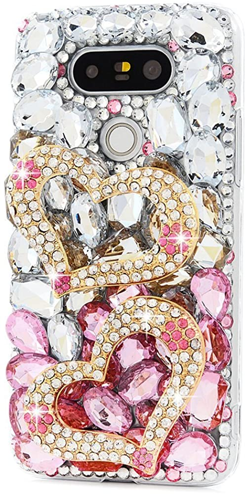 STENES 3D Handmade Sparkly Rhinestone Crystal Design Case for Huawei Mate 10-35