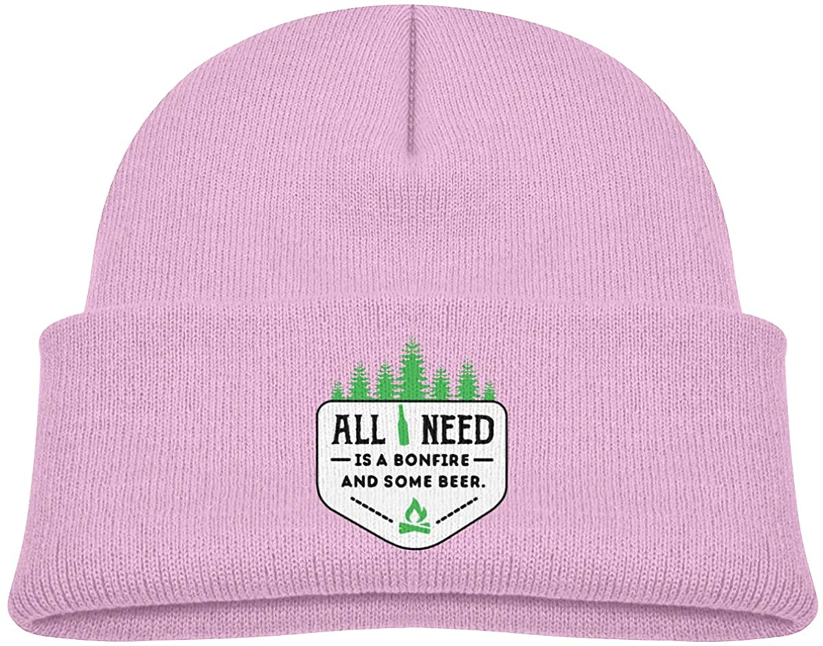 All I Need Kids Beanies Hat Winter Hat Knitted Skull Cap