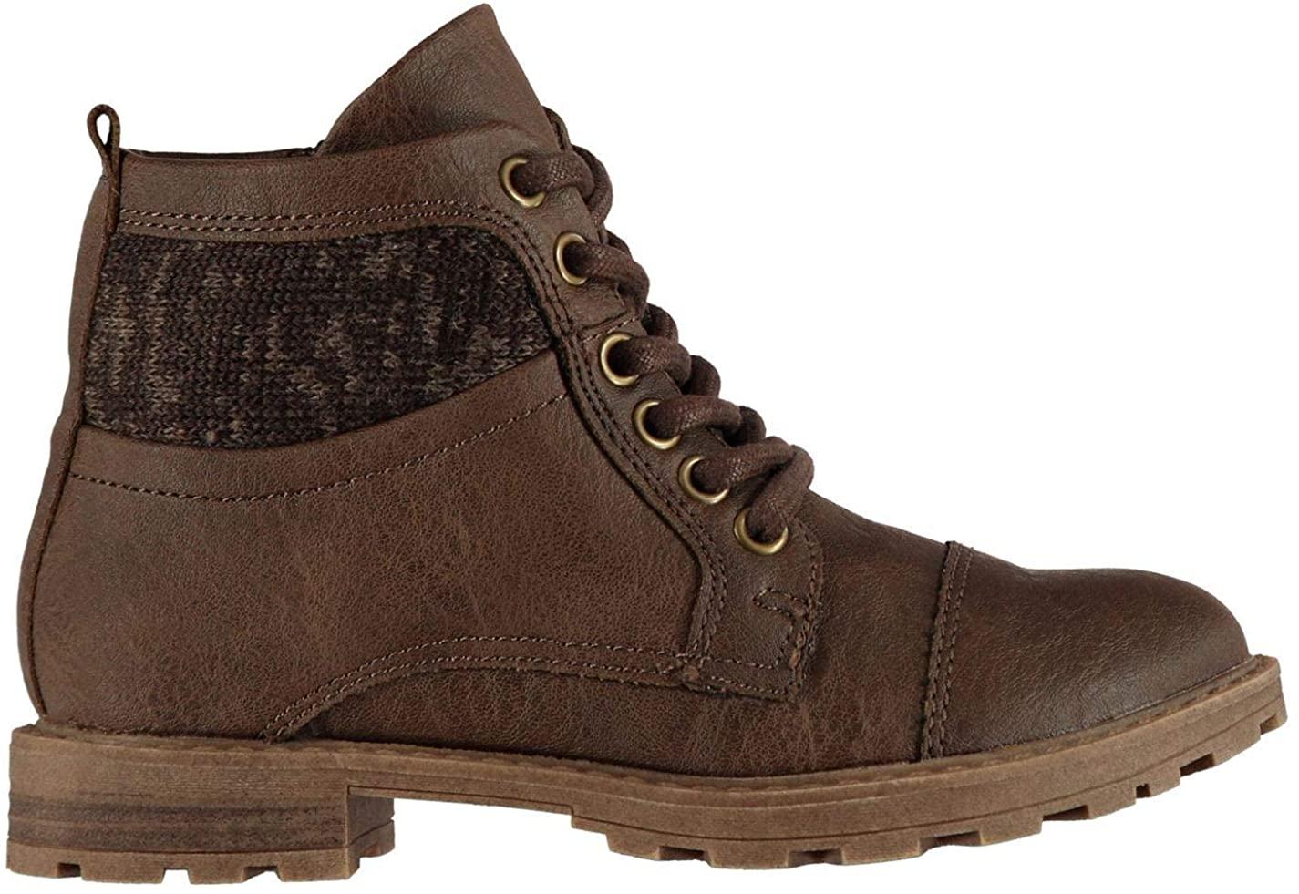 Soviet Nelson Boots Childs Boys Brown Shoes Boot Kids Footwear (UKC11) (EU29)