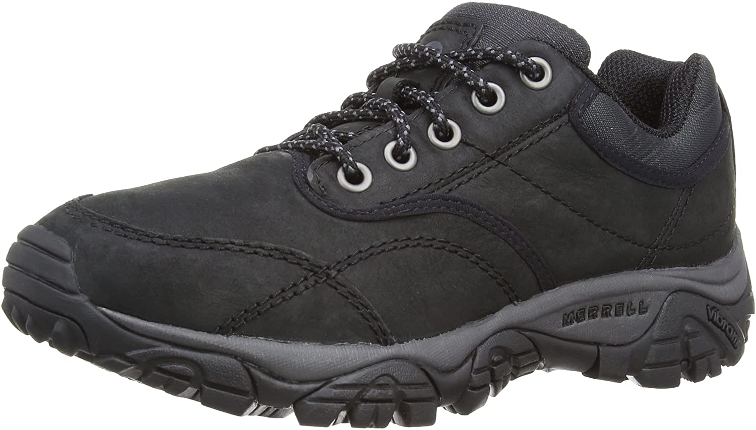 Merrell Men_s Moab Rover Hiking Shoes  Durable and Comfortable in Sophisticated Leather Upper and Abrasion Resistant Fabric