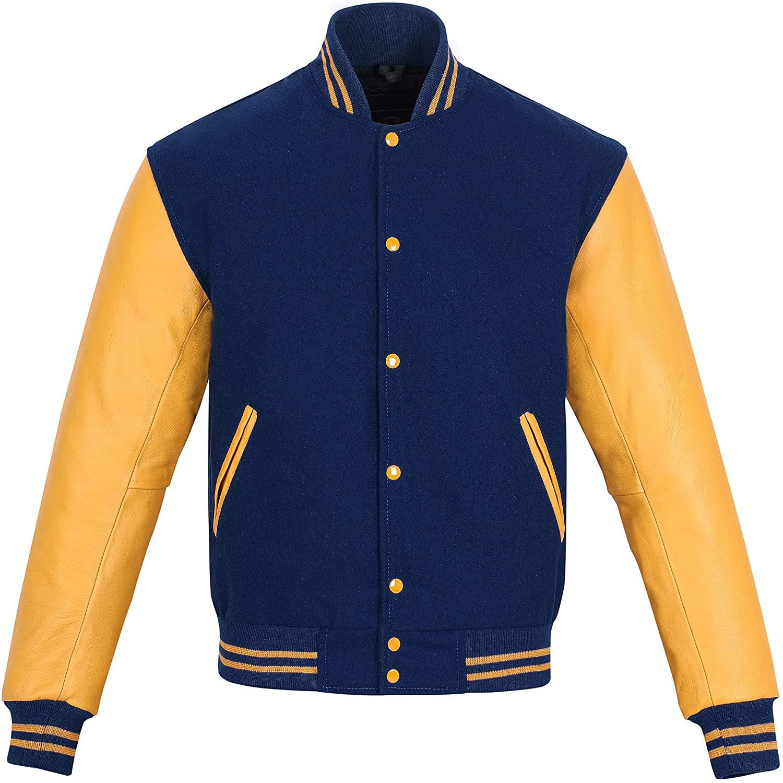 Original Varsity Letterman Jacket | Genuine Leather Unisex
