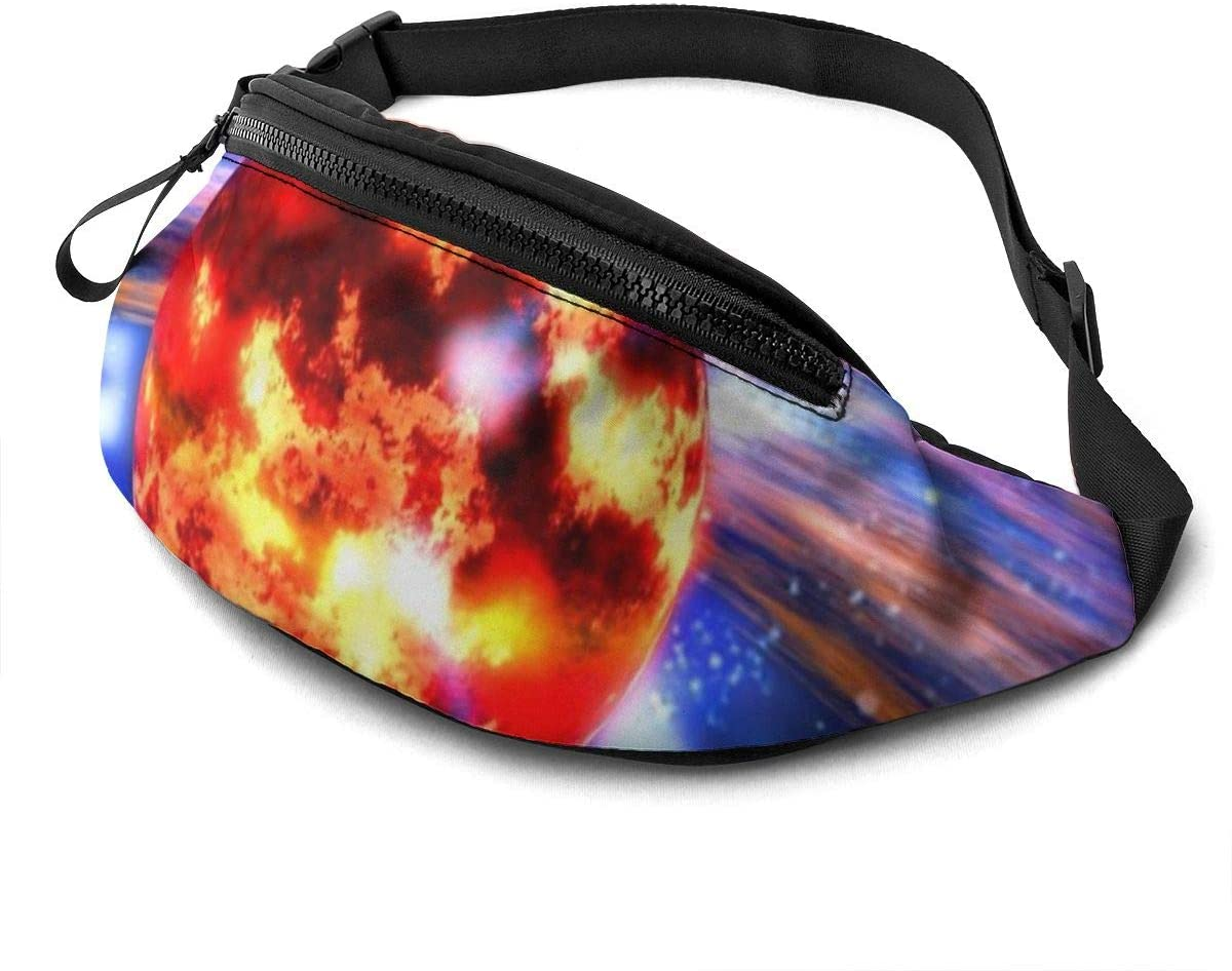 Space Neutron Star Vein Fanny Pack Fashion Waist Bag