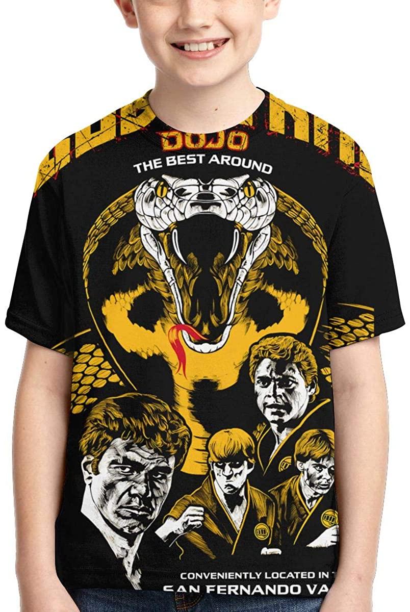Wehoiweh Unisex Young T Shirt Cobra Kai Child Shirts Tees