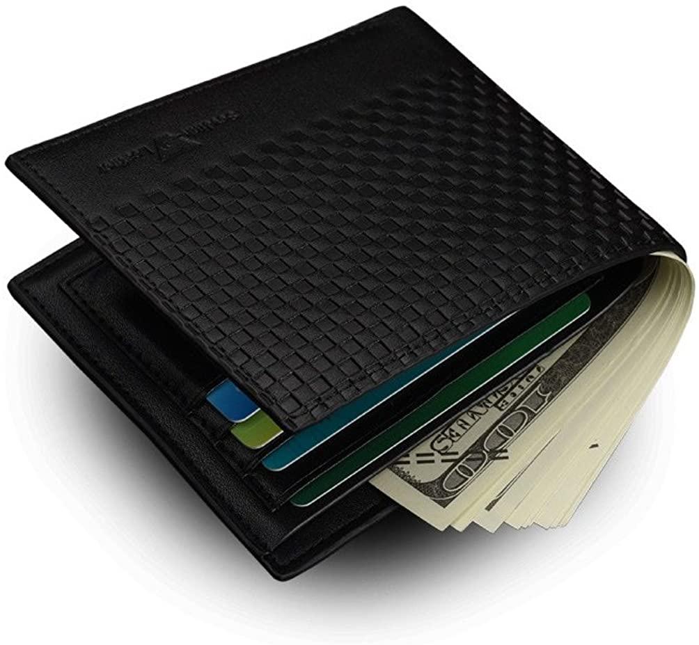 Billeteras de Hombres Carteras/Monederos Luxury Men Wallets Carteira Vintage Style Leather