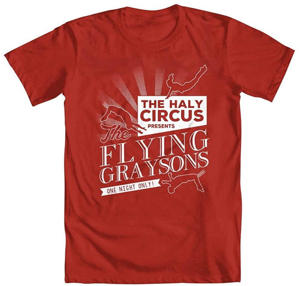 GEEK TEEZ Batman Inspired The Flying Graysons Boys' T-Shirt