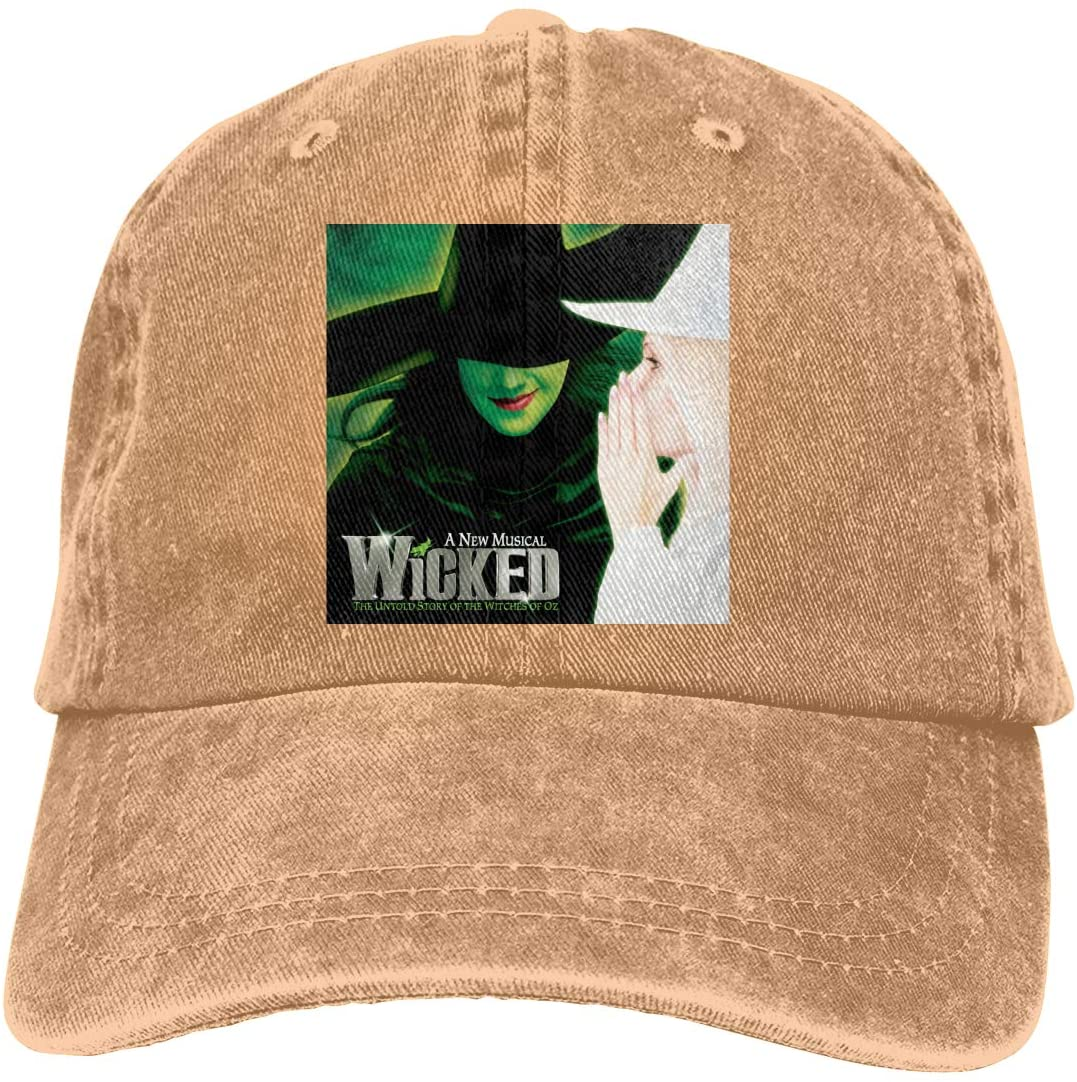 NOT Black Wicked The Musical V-Neck Adult Cowboy Hat