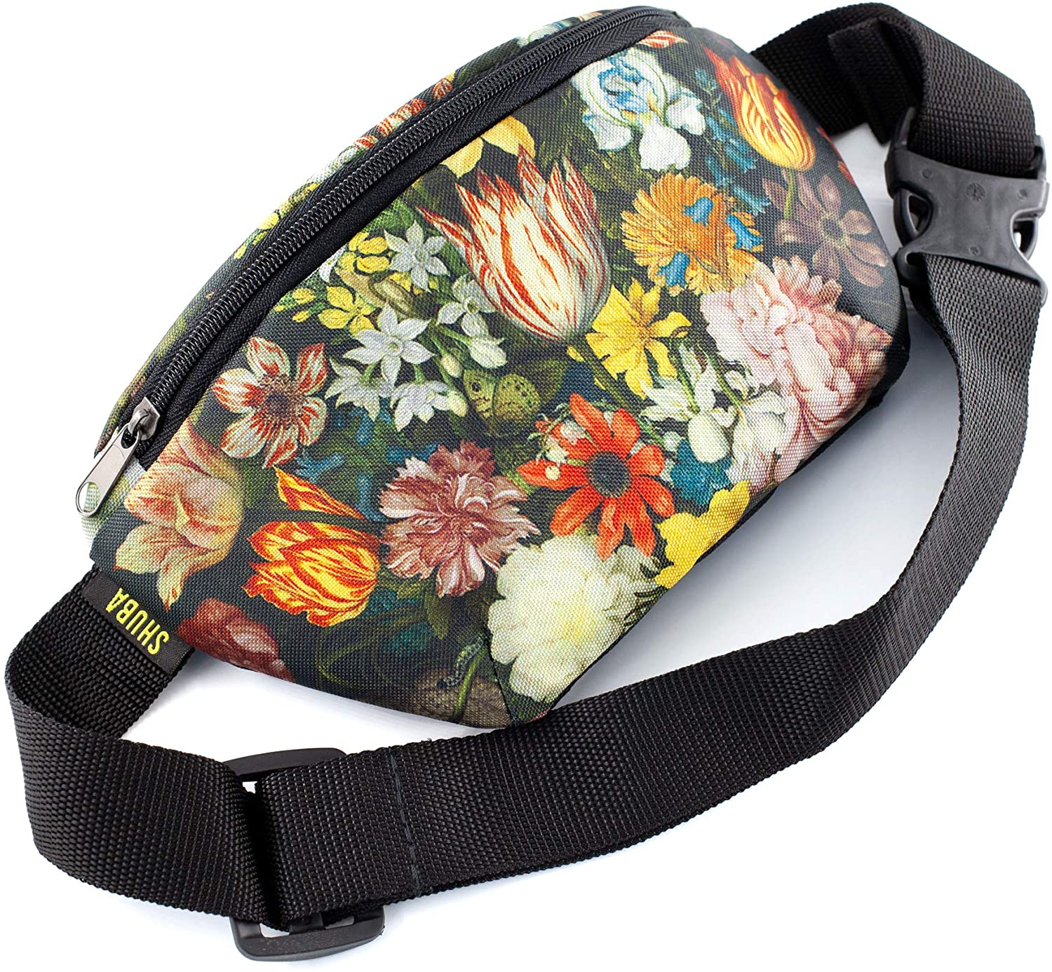 ShubaGiftFactory Art Bag Belt Funny Gifts Waist Packs, Waist Pocket, Masterpiece Gifts, Adjustable Belt Bag, Famous Art Canvas, for Travellers