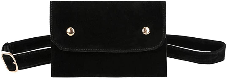 Women Waist Bag Fashion Fanny Pack Bum Bag Adjustable Belt Mini Messenger Bag Lightweight For Travel