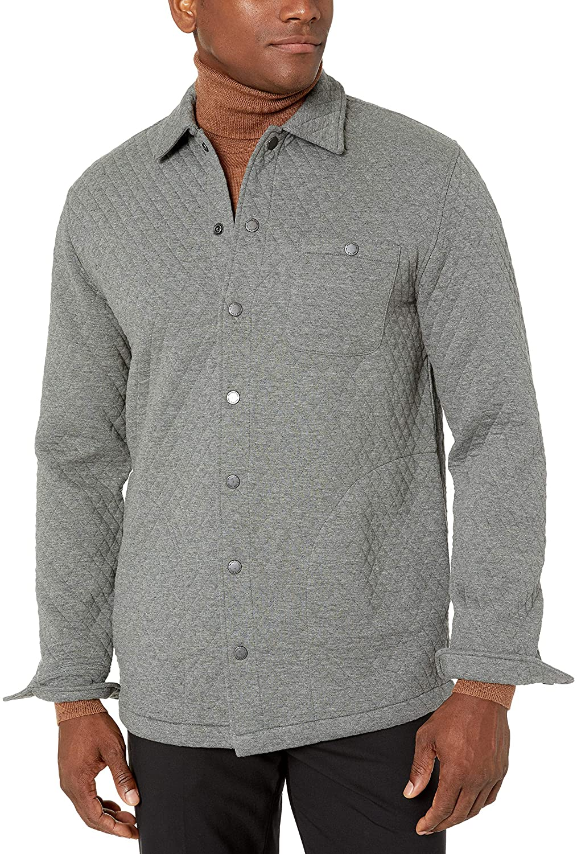 Pendleton Men's Quilted Knit Shirt Jacket
