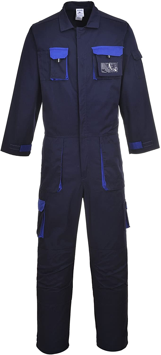 Portwest Unisex Mens/Womens Texo Contrast Protective Coverall/Workwear