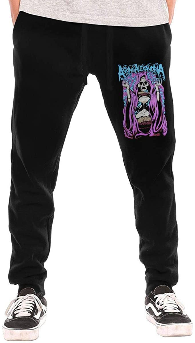 Anquyiceng Asking Alexandria Men's Workout Training Pants