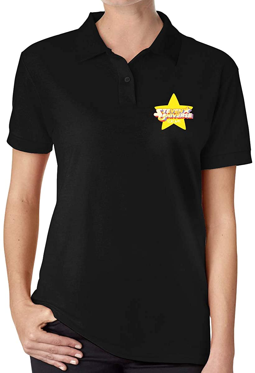 Ourjsncvns Steven Universe Women's Regular-Fit Cotton Polo Shirt