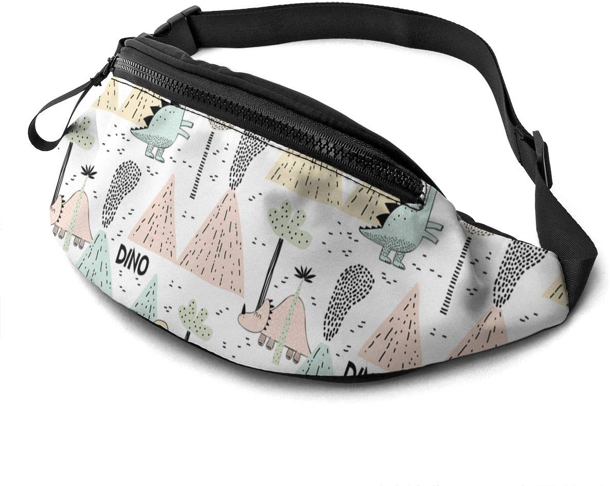 Cartoon Little Dinosaur Fanny Pack Fashion Waist Bag