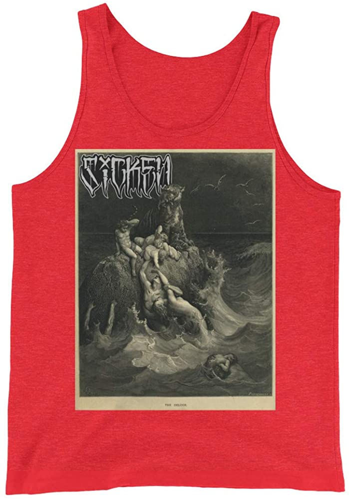 Sicken Clothing Deluge Men's Tank by Gustave Dore