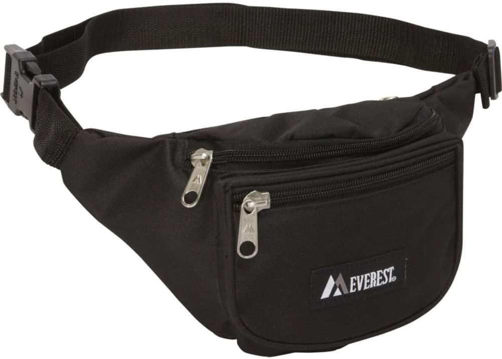 Everest Signature Waist Pack - Standard (Black)