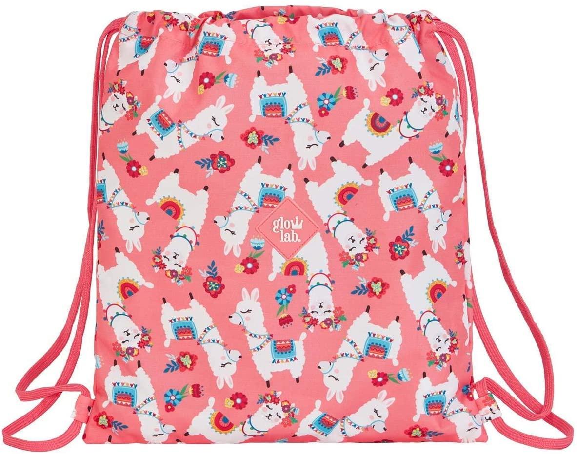Glowlab 611961196 Childrens Luggage, Girls, Multi-Colour, Single