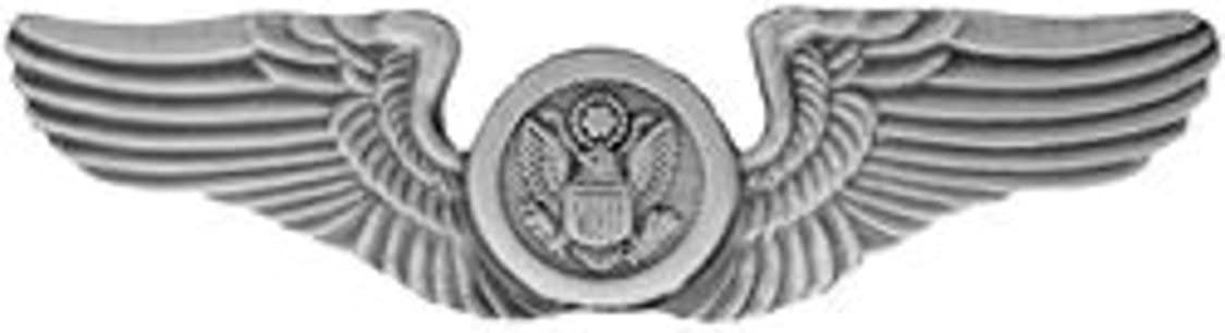 US Air Force Air Crew Wings Large Pin (metal, 3