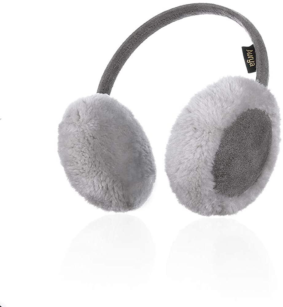 Kids Classic Ear Warmers/Earmuffs-Winter Faux Fur Warm Ear Muffs for Boys and Girls by Aurya