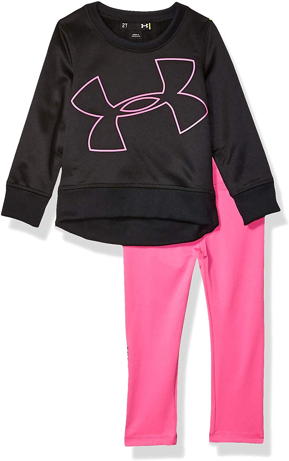 Under Armour Girls' Long Sleeve Fleece & Legging Set