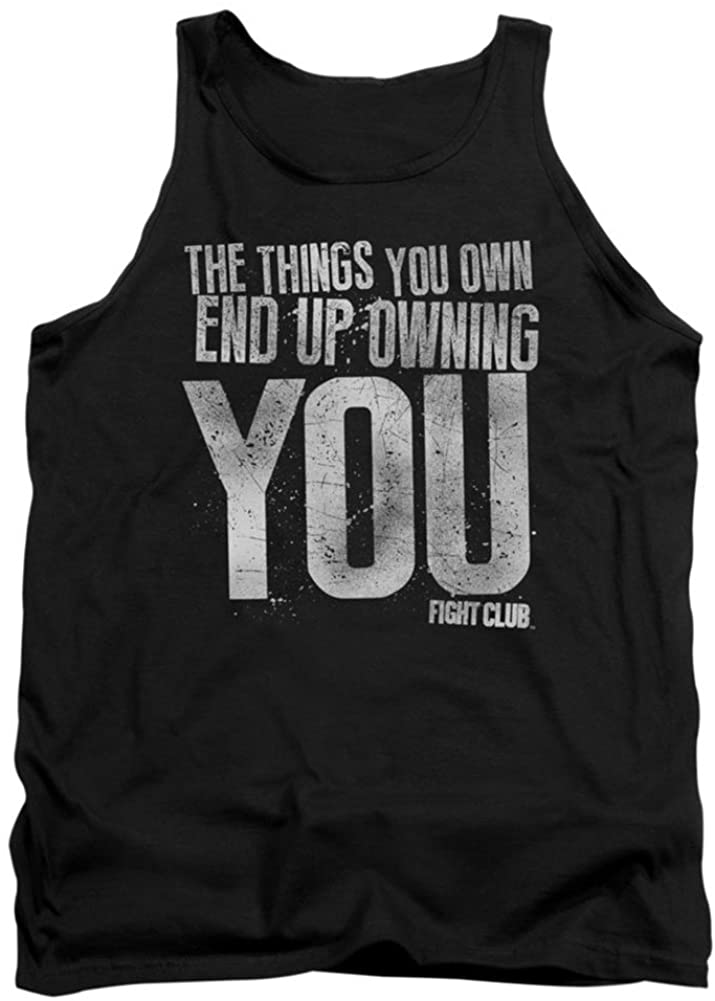 Tank Top: Fight Club - Owning You Size XL