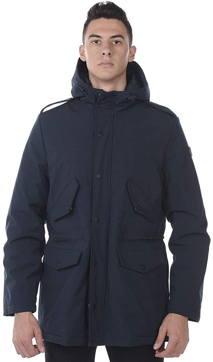 Daniele Alessandrini - Men'S Jacket I80803805 I80803805 BLU Giubbotto KOS