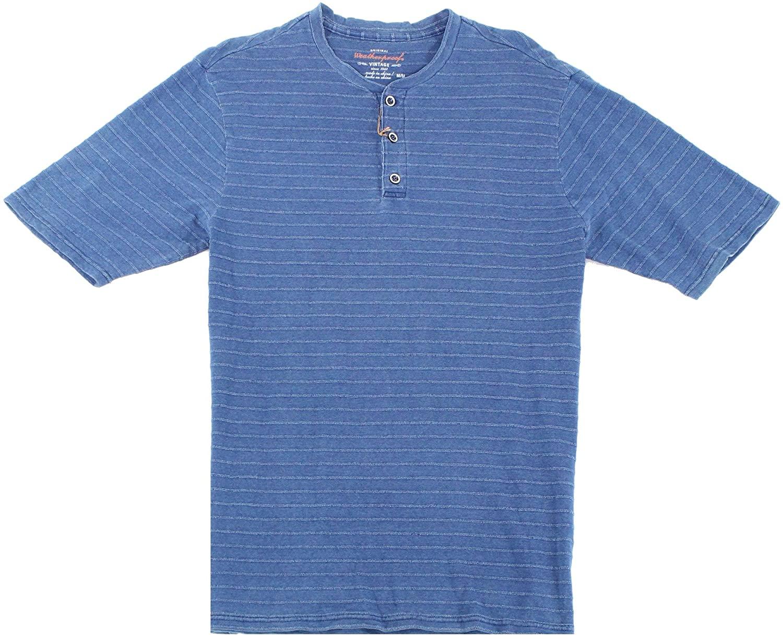 Weatherproof Mens Textured Henley Shirt
