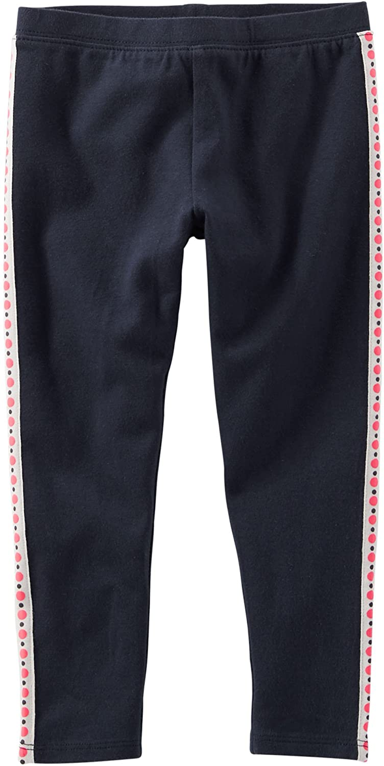 Carter's Girls TLC Side Ribbon Leggings, Navy