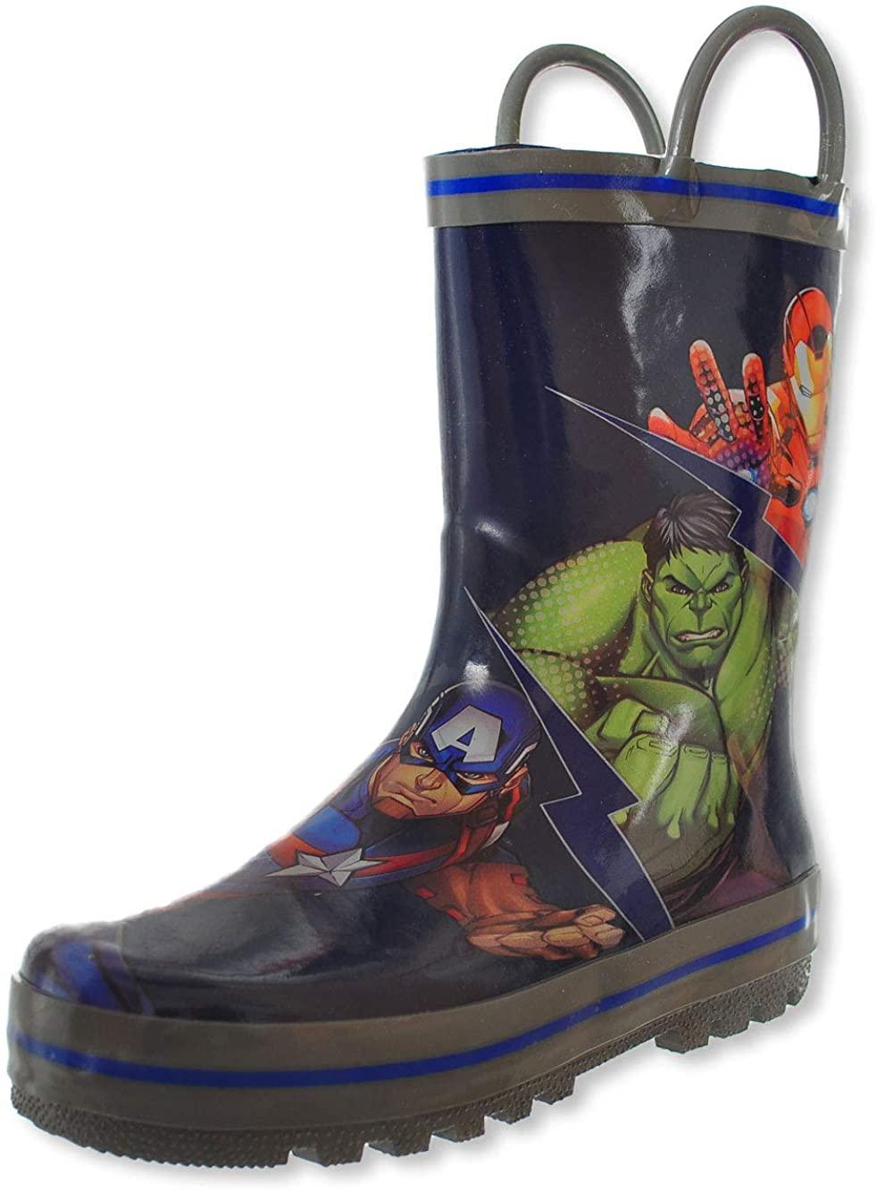 Favorite Characters Avengers Rain Boot (Toddler/Little Kid)