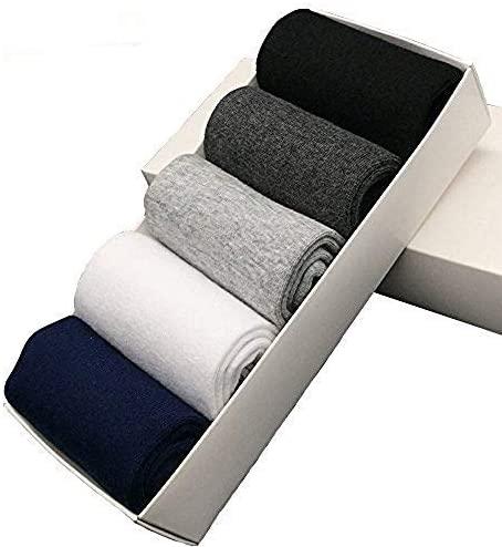 KyyWee Mens Socks Causal Men Crew Sock Non Slip 5 Pack