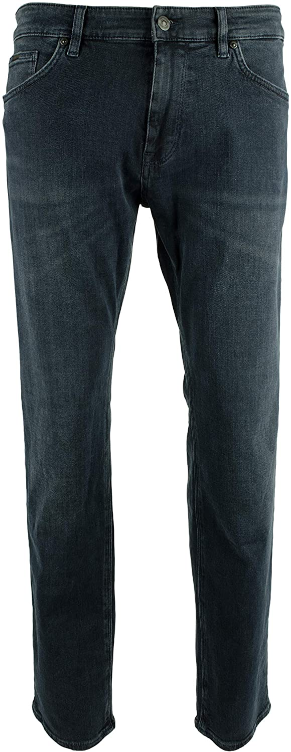 Hugo Boss Men's Albany Relaxed Fit Stretch Denim Jeans