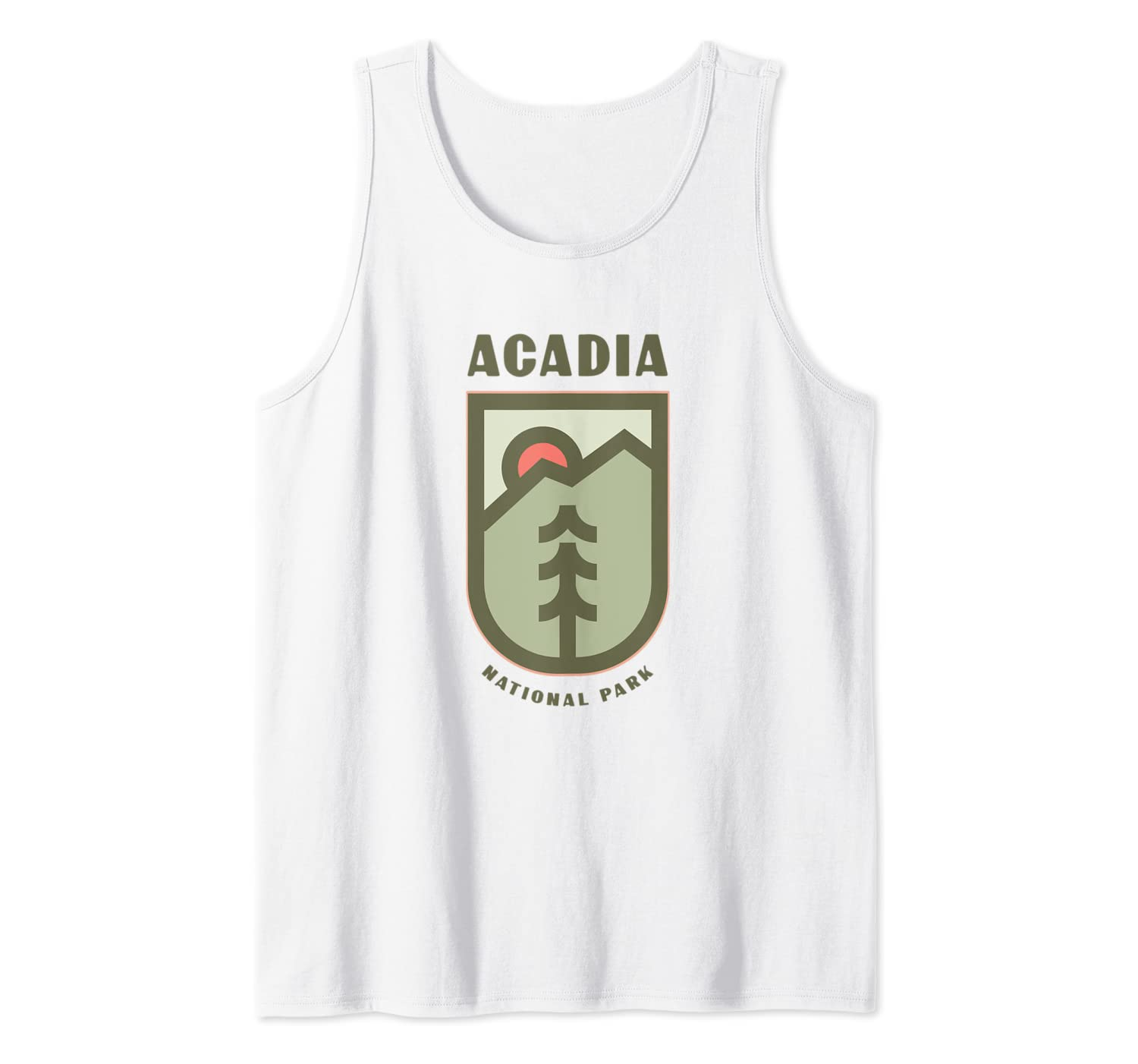Family Vacation Gift - Acadia National Park Tank Top