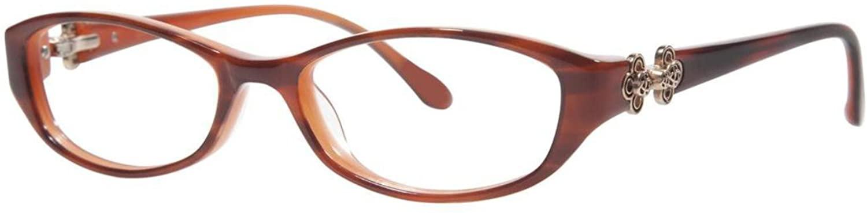 LILLY PULITZER Eyeglasses KOLBY Havana Tortoise 49MM