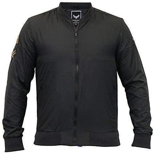 Brave Soul Mens MA1 Harrington Jacket