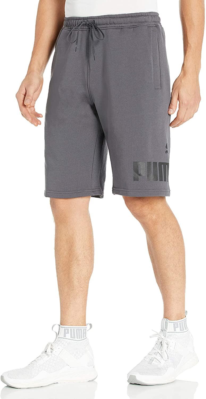 PUMA Men's Big Fleece Logo Short 10