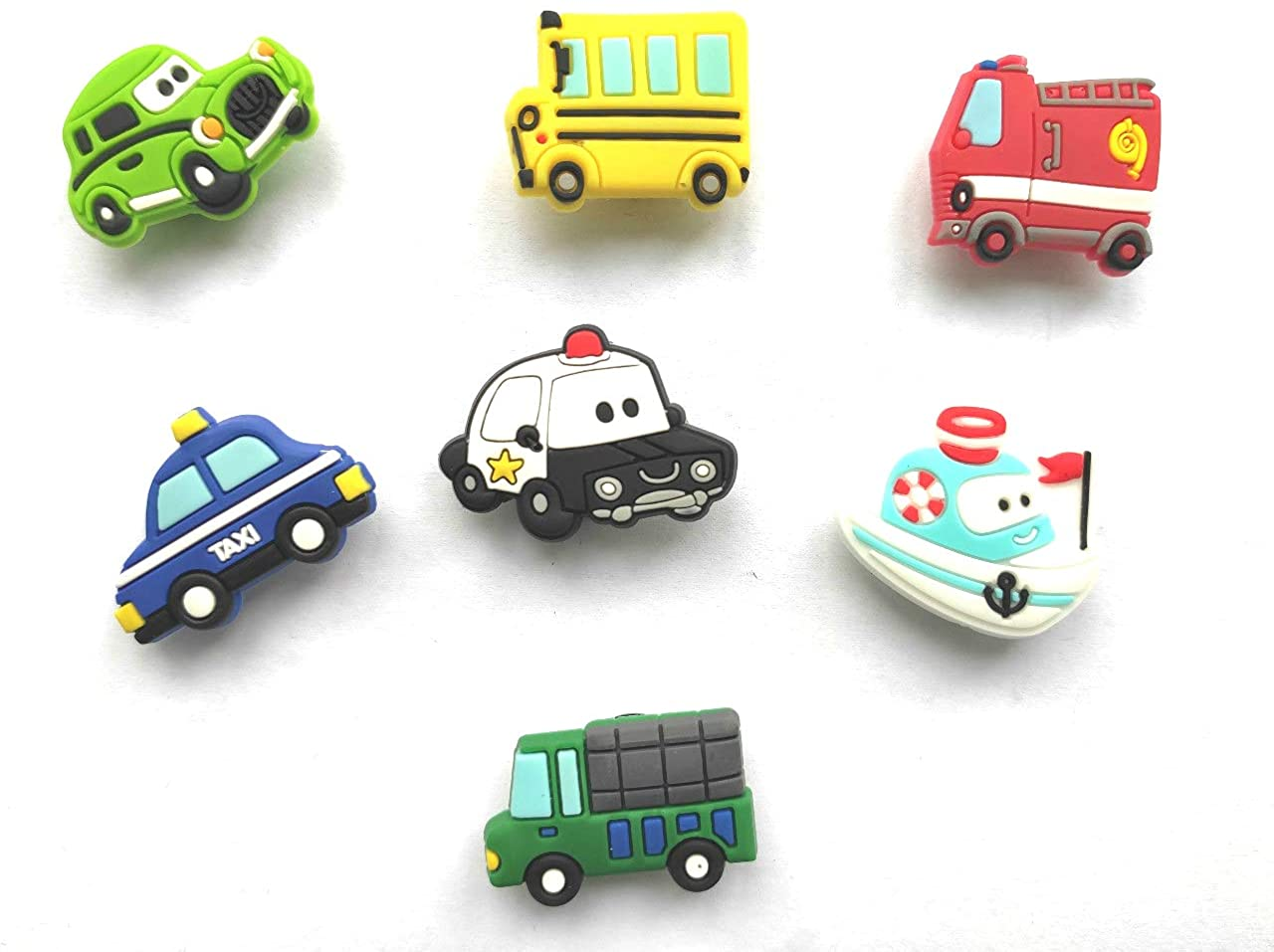 7pc Shoe Charms for Croc & Bracelet Wristband Kids Party Birthday Gifts