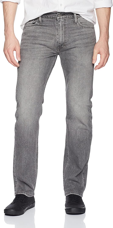 Levi's Men's 513 Slim Straight Jean, Tin Man - Stretch, 38W x 32L