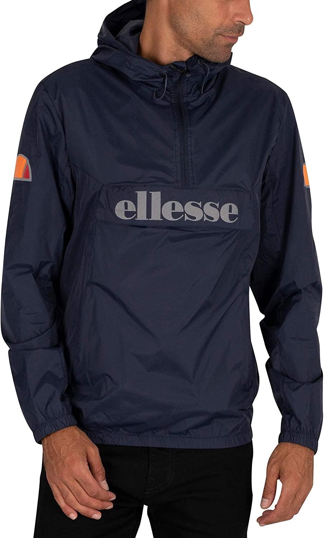 ellesse Men's Acera Pullover Jacket, Blue