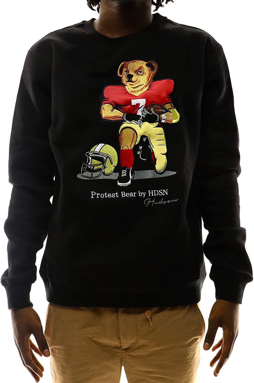 Hudson Outerwear Football Protest Bear Crew