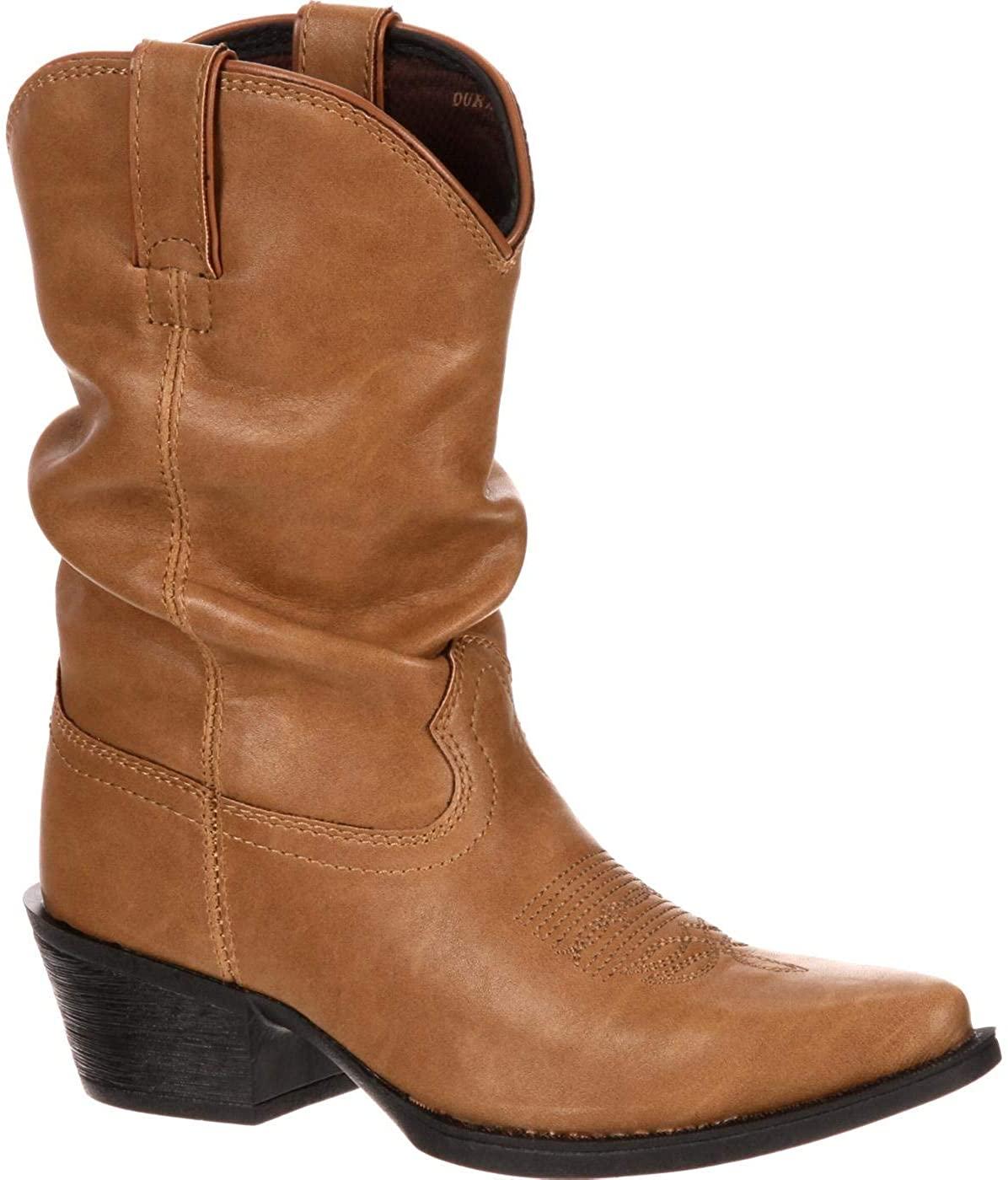 Durango Lil Big Kid Western Slouch Boot
