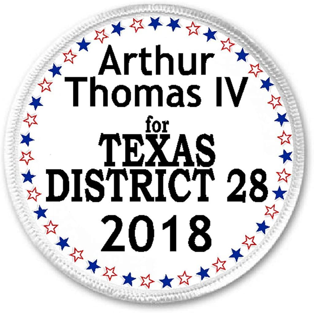 Arthur Thomas IV for Texas District 28 2018-3 Sew/Iron On Patch Election