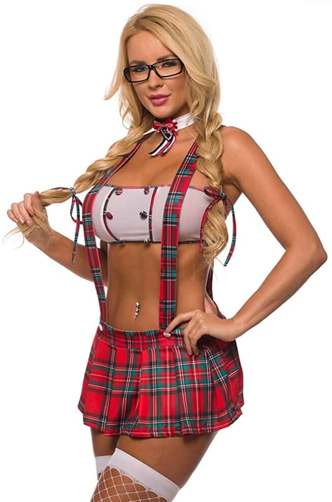 Velvet Kitten Study Date School Girl Costume Set