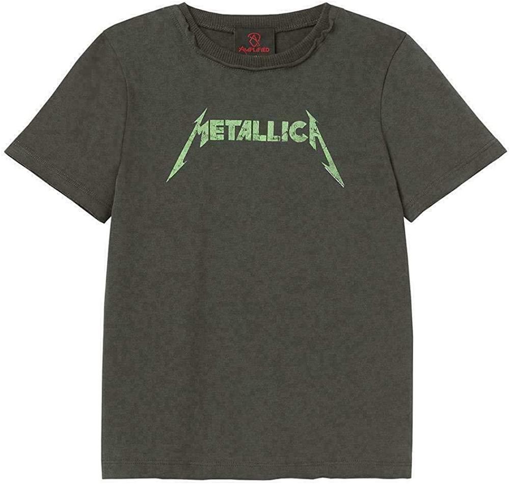 Amplified Clothing Metallica 'Neon Logo' Kids T-Shirt