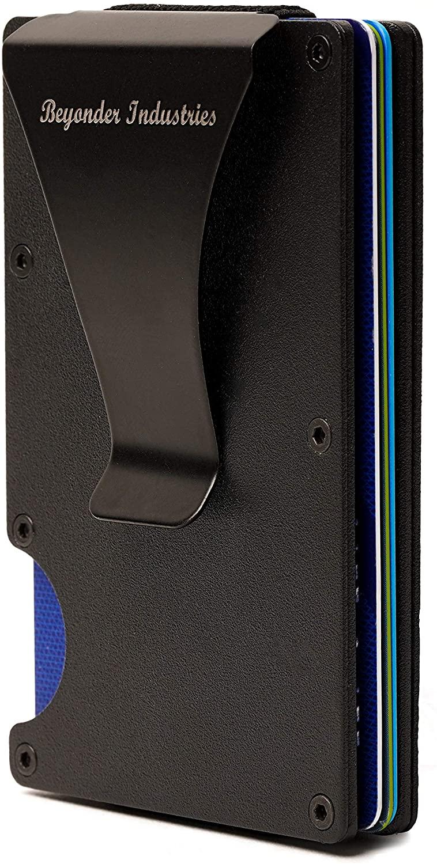 Wallet – RFID Blocking Wallet, Metal Wallet, Modern Wallet, Slim Wallet, Minimalist Wallet by Beyonder Industries LLC