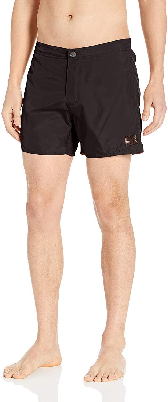 AX Armani Exchange Men's Classic Solid Colored Swim Shorts