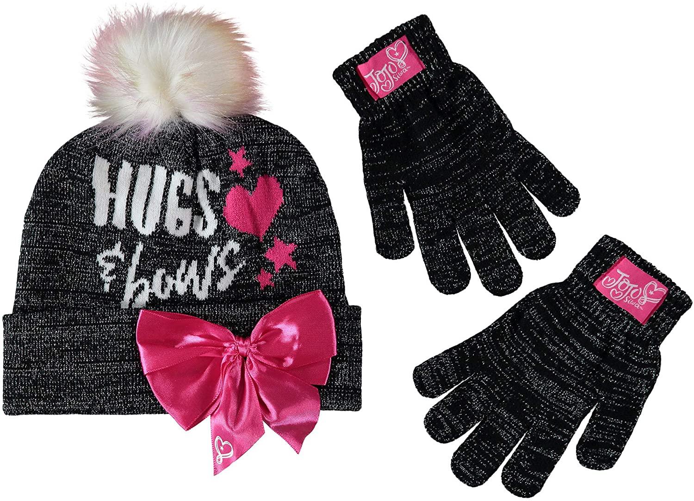 Nickelodeon JoJo Siwa 2-Piece Winter Hat and Glove Set