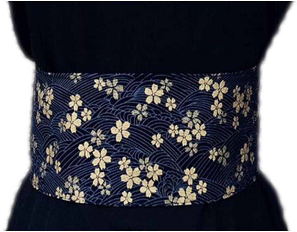 Japanese Retro Kimono Taille Belt Kimono Printing National Waist Sealing 10 CM, 05