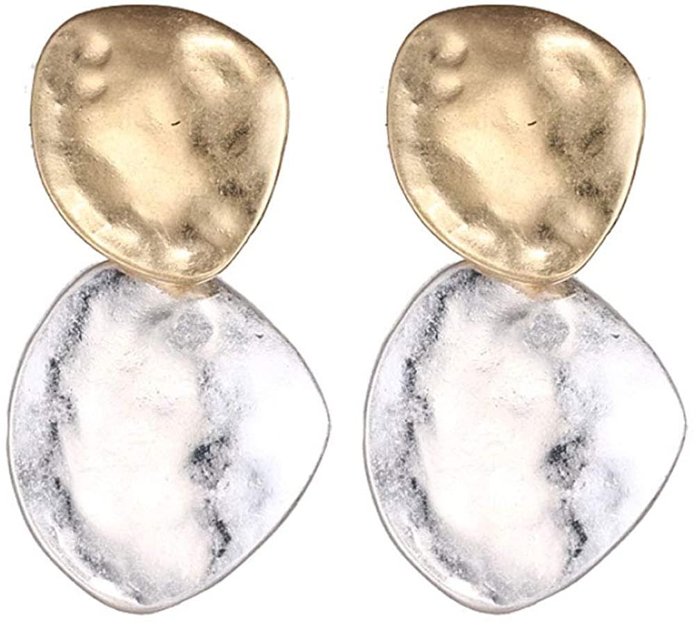 Gold Drop Dangle Earrings Charms Statement Fashion Jewelry Earrings for Women Girls Mother Girlfriend Gift