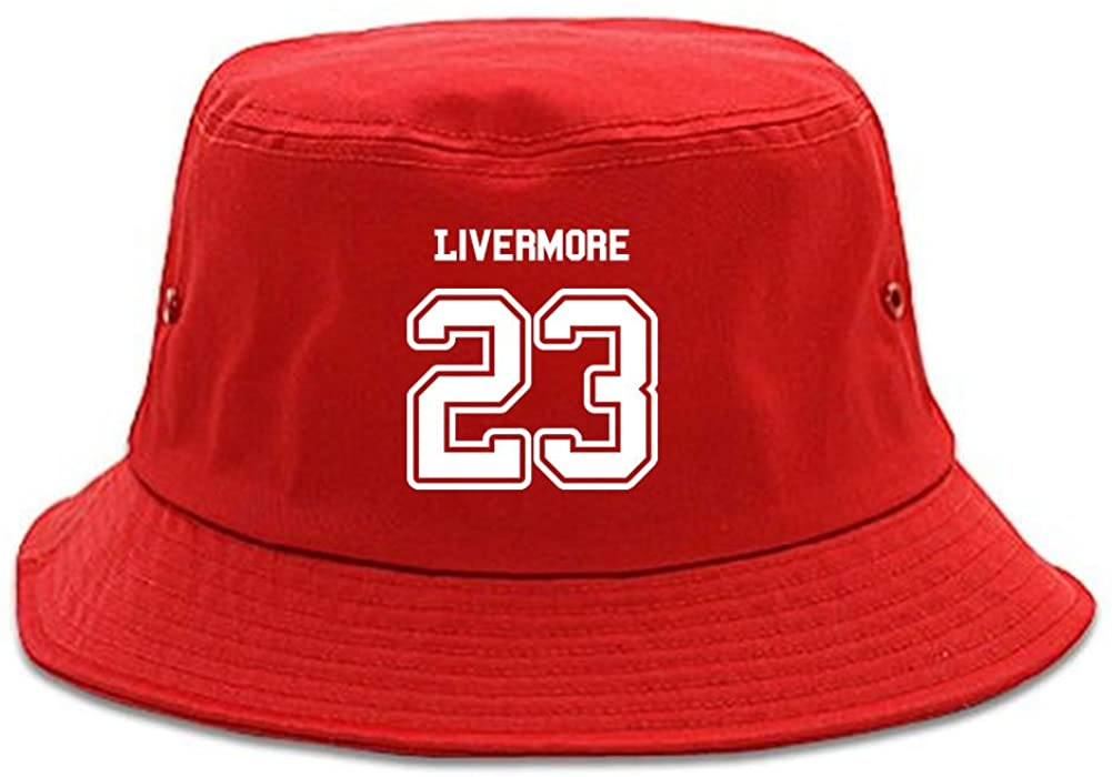 Kings Of NY Sport Style Livermore 23 Team City California Bucket Hat