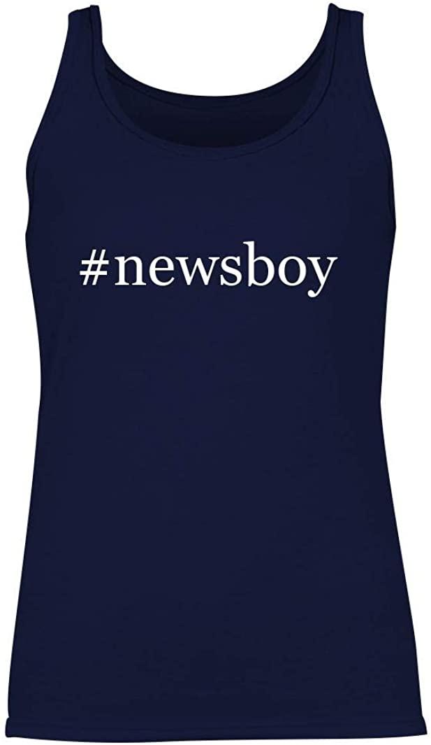 #newsboy - Women's Hashtag Summer Tank Top