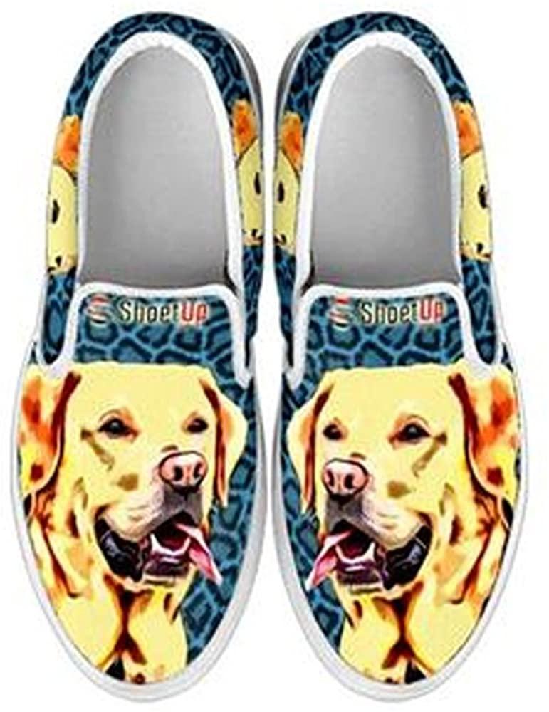 Shoetup Dog Print Slip Ons for Kids (Choose Your Breed)